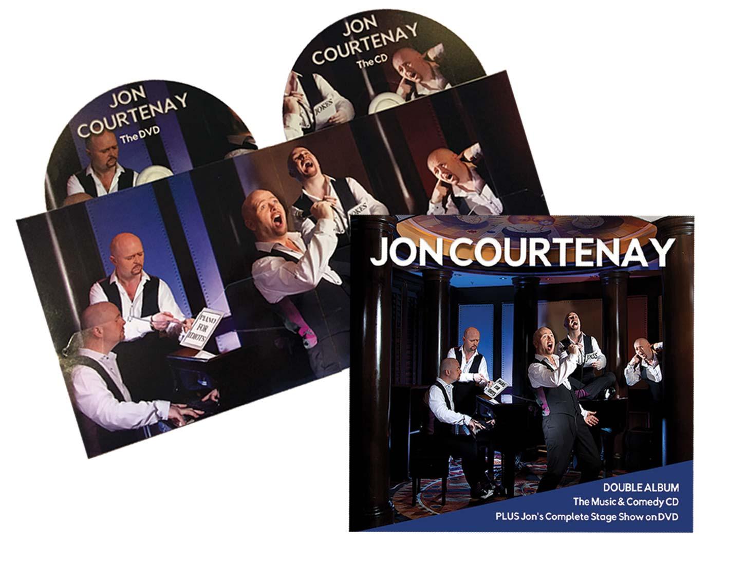 BUY Jon Courtenay double album